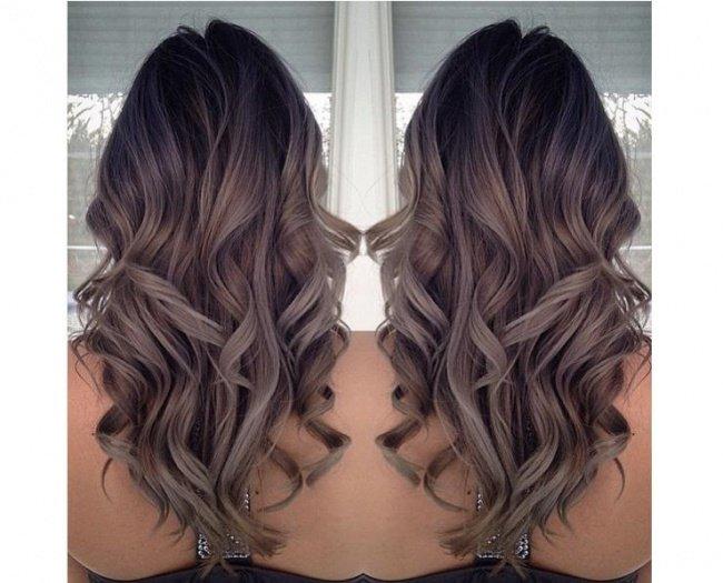 Hot Trend W Koloryzacji Włosów 2016 Ombre W Popielatyc Na