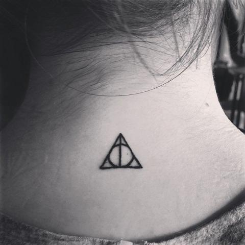 Harry Potter Fan Tattoo Tatuaż Wzory Harry Potter Fan Na