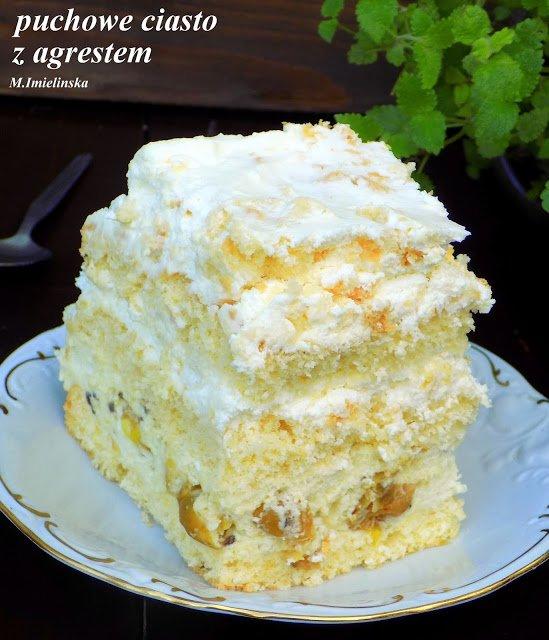 Domowa Cukierenka Domowa Kuchnia Puchowe Ciasto Z Ag Na Stylowi Pl