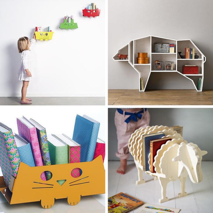 Półki Na Książki Do Pokoju Dziecka 13 Kreatywnych Pom Na
