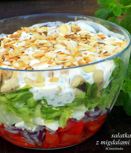 Domowa Cukierenka Domowa Kuchnia Salatka Z Feta I Mi Na Stylowi Pl