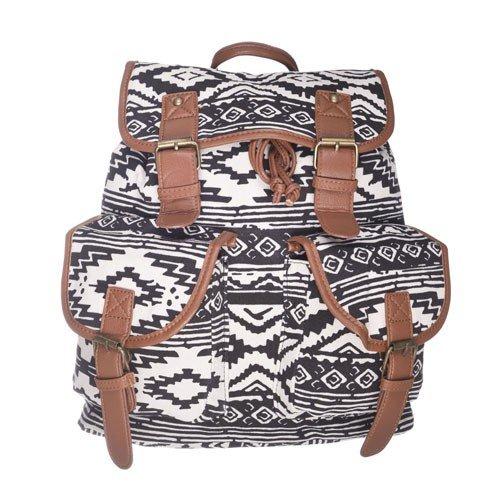 95b2f5899215c Plecak Vintage Aztec Black na Stylowi.pl
