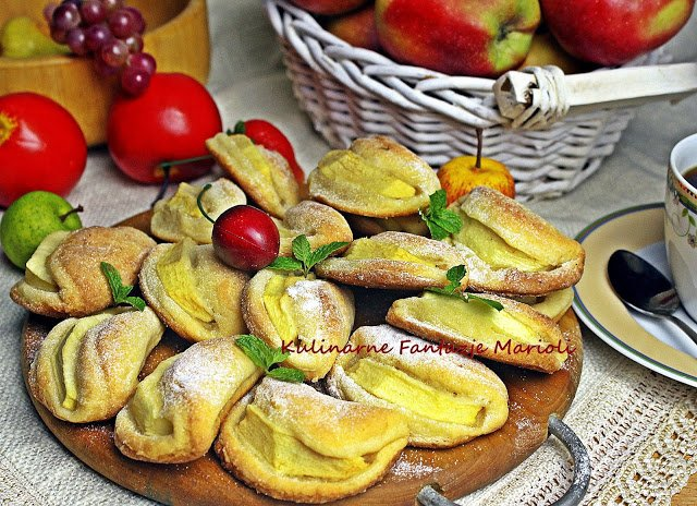 Kulinarne Fantazje Marioli Caluski Z Jablkami Na Stylowi Pl