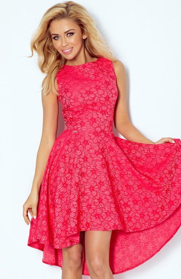 f515b06541 SAF 66-9 sukienka malinowa Ekskluzywna sukienka