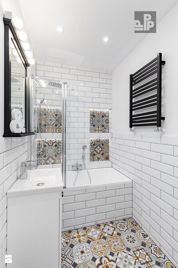 łazienka Styl Rustykalny Zdjęcie Od Pogotowie Projekt Na