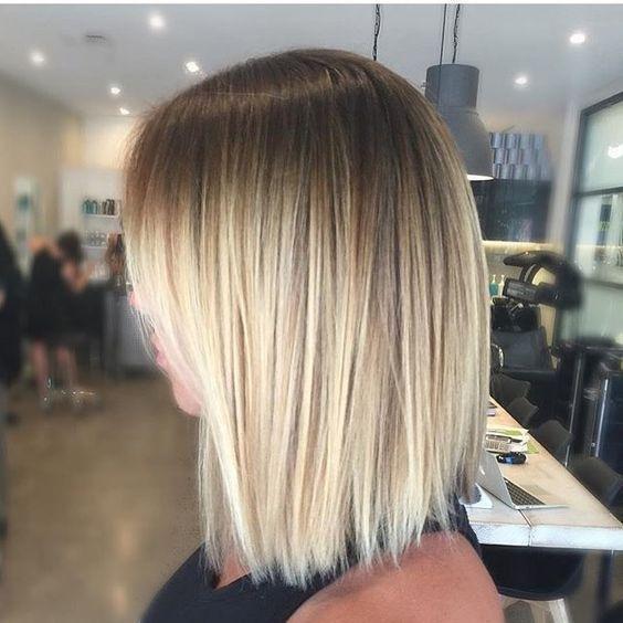 Krótkie Włosy Ombre 10 Inspirujących Fryzur Kobiecep Na