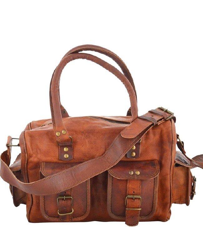 732053cd14c9b ☆ UTTA VINTAGE™ skórzana torba na ramię
