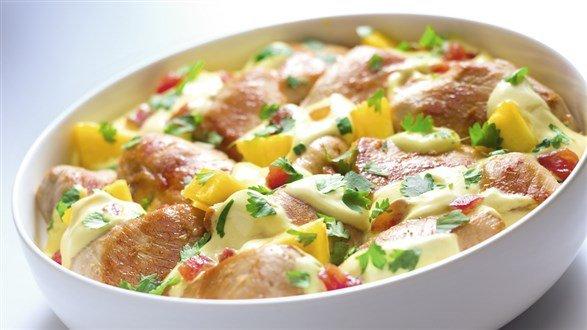 Przepis Na Kurczaka Curry Z Ananasem Kuchnia Lidla Na Stylowipl
