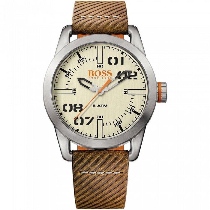 c8fa74c9674df Hugo Boss 1513418 oryginalny męski zegarek na skórzanym… na Stylowi.pl