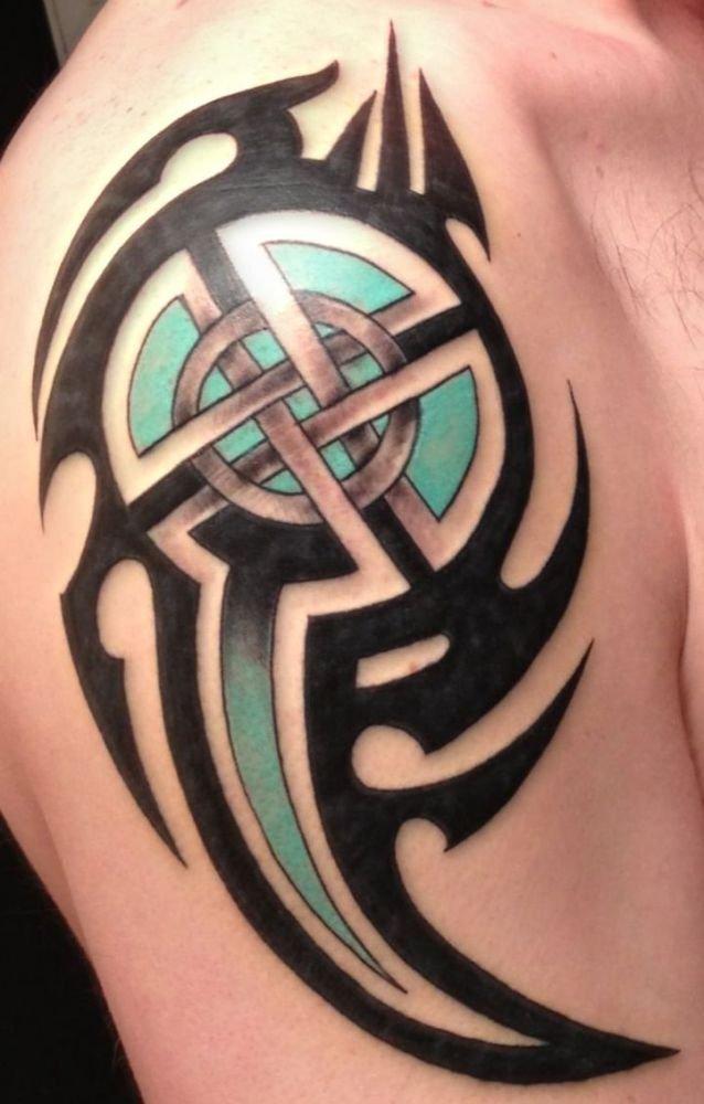 Tribal I Wzór Celtycki Tatuaż Na Ramię Na Stylowipl