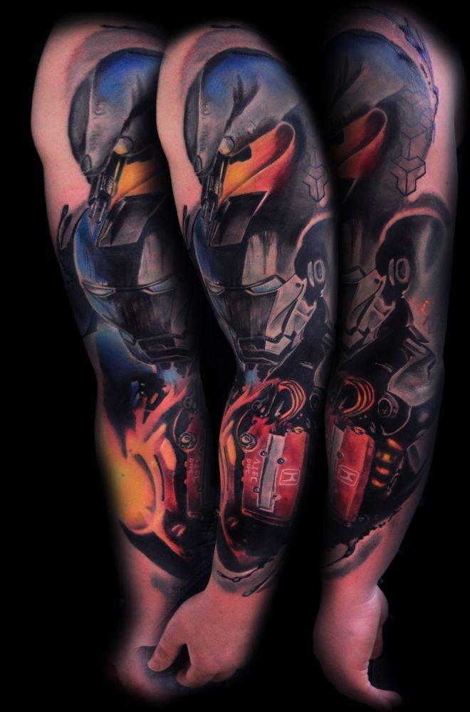 Iron Man Tatuaż Na Ręce Na Stylowipl