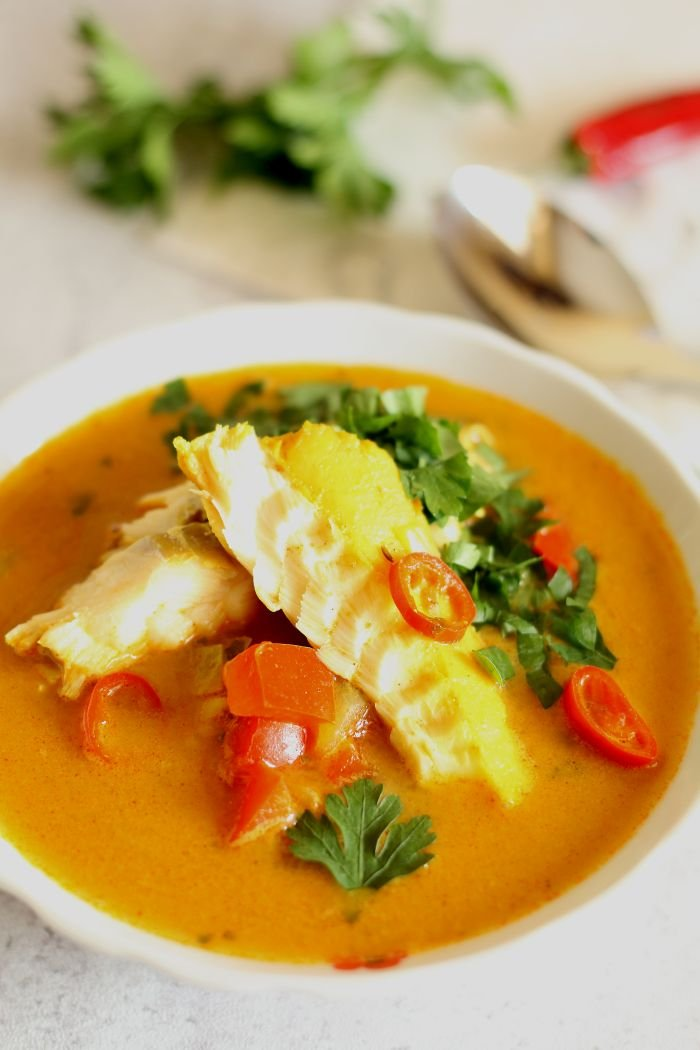 Zupa Rybna Z Dorsza I Papryka Thermomix Przepisy Na Stylowi Pl