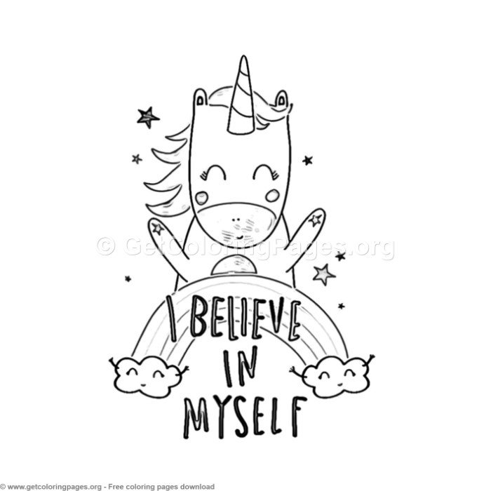 68 Cute Cartoon Unicorn Coloring Pages Getcoloringpag Na Stylowi Pl