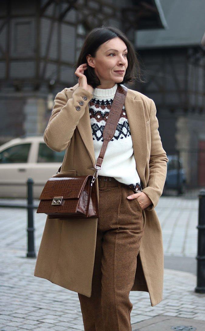 2f476f5d41c050 Sweter w stylu norweskim - Minimalissmo. Blog modowy na Stylowi.pl