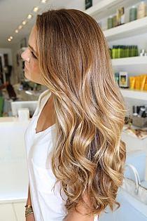 Ciemne Blond Włosy Z Jasnymi Pasemkami Na Stylowipl