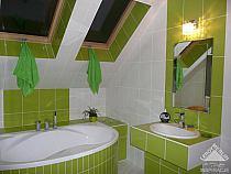 Zielono Biała łazienka W Projekcie Wykorzystano Glazur Na