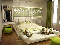 Zielono Brązowa Sypialnia Na Stylowipl