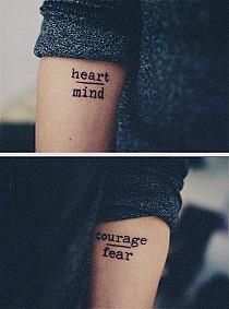 Jaką Czcionką Napisać Tatuaż Na Stylowipl
