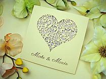 Zaproszenia Na ślub Fioletowe Ażurowe Jotstudiopl Na Stylowipl