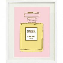 Chanel Perfume Bottle Print Poster Na Stylowipl