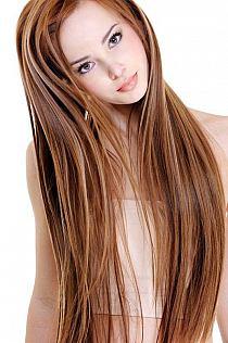 Proste Długie Włosy Z Grzywką Na Bok Na Stylowipl