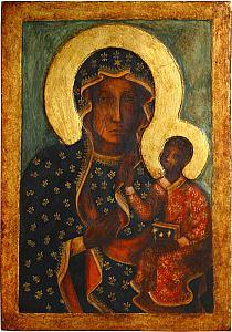 Matka Boska Częstochowska Więcej Zdjęć Ikony Na Http Na
