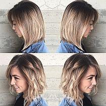 Krótkie Włosy Ombre 10 Inspirujących Fryzur Kobiecep Na Stylowipl
