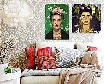 Bajecznie Kolorowe Reprodukcje Obrazów Fridy Kahlo Wes Na