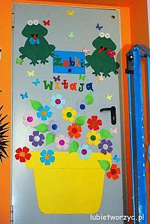 Lubię Tworzyć Biedronka Dekoracja Drzwi Przedszkolne Na Stylowipl