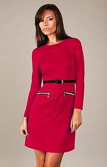1b3e98498b ... Sukienki dzienne mini. Dodaj do swojej kolekcji Edytuj Lubię to Ustaw  jako okładkę kolekcji Komentuj. Otwórz. Czerwona gustowna trapezowa sukienka  ...