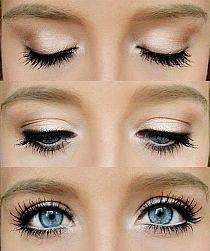 Galeria Makijażu Makijaż Do Niebieskich Oczu Na Stylowipl