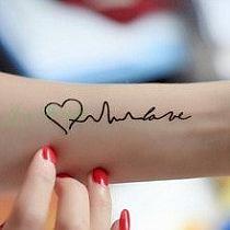 Tatuaż M Na Stylowipl
