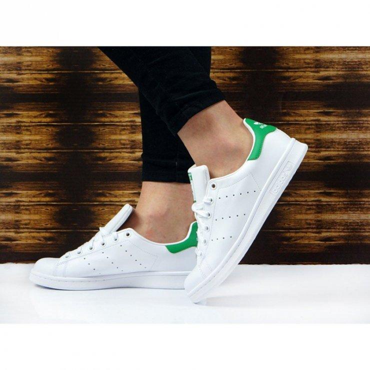 Adidas stan smith J M20605 Sneakersy damskie Sklep… na