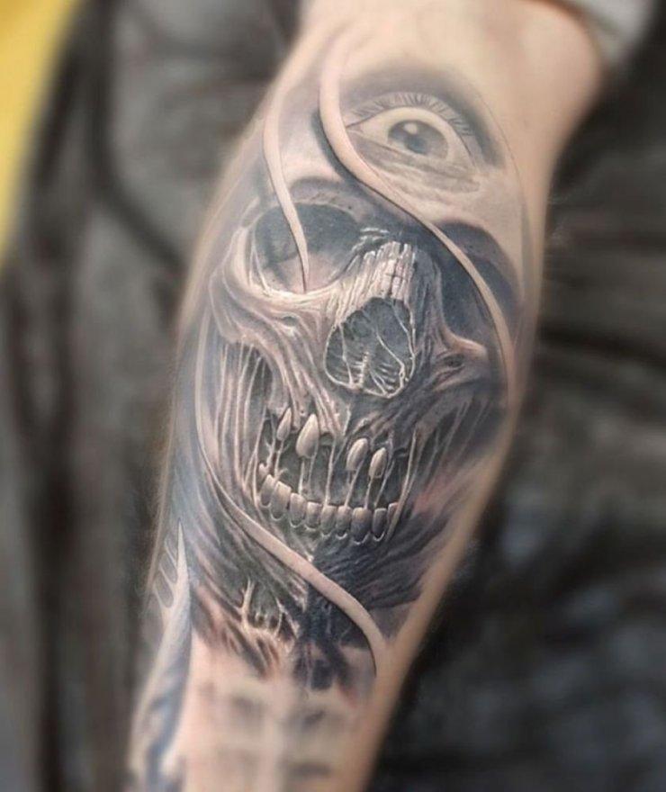 Na zdjecia reke tatuazy Tatuaze Na