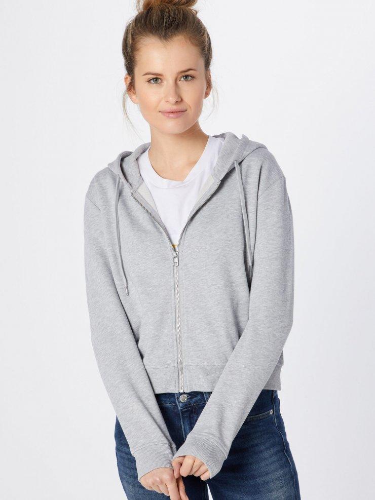 Calvin Klein Jeans Bluza rozpinana 'BOXY ZIP UP MO… na