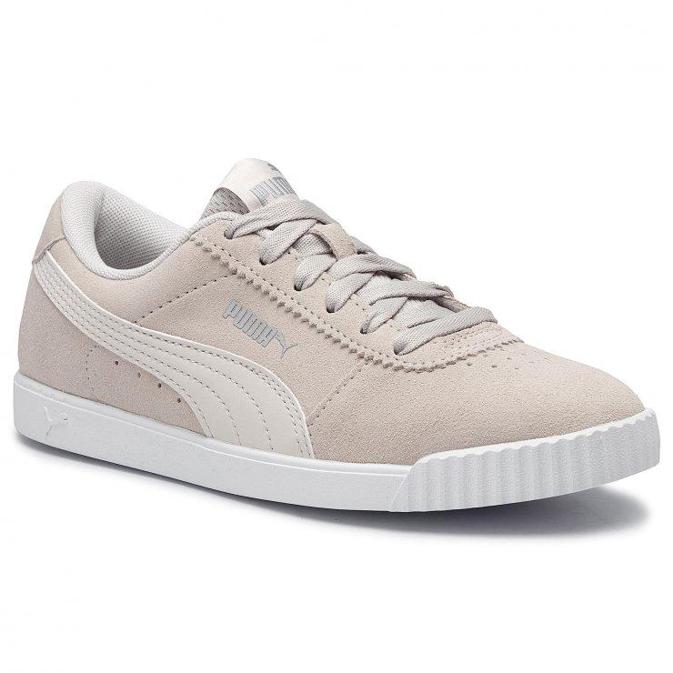 Sneakersy PUMA Carina Slim Sd 370549 02 Pastel Parchm… na