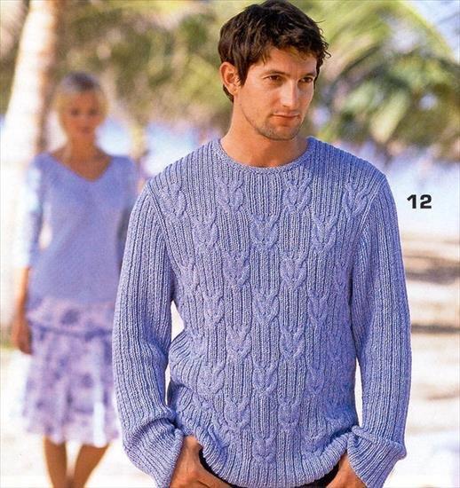 swetry męskie wzory na druty mariokos47 Chomikuj.… na