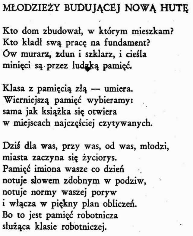Wisława Szymborska Wiersze Na Stylowipl