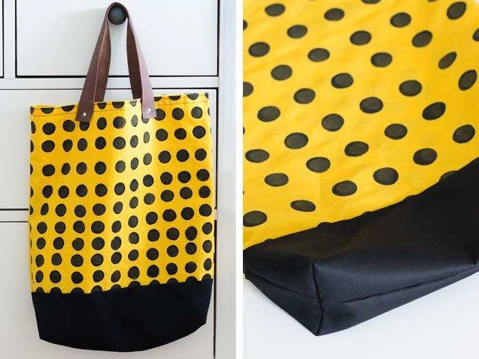 DIY: Jak uszyć torbę na zakupy Szycie na DaWandzie na