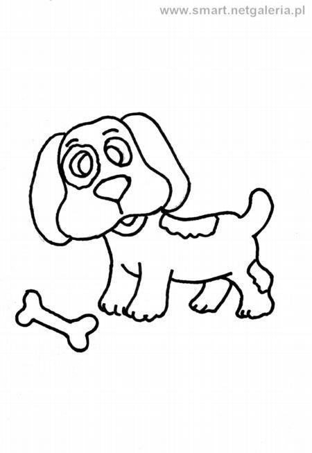 Pies Kolorowanka Na Stylowi Pl