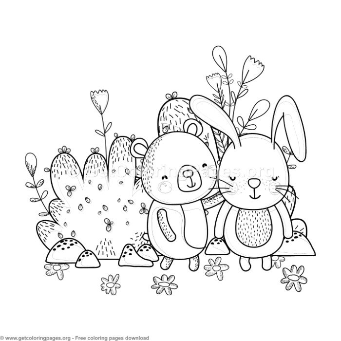 Free Friends Coloring Pages For Preschoolers, Download Free Clip ... | 700x700